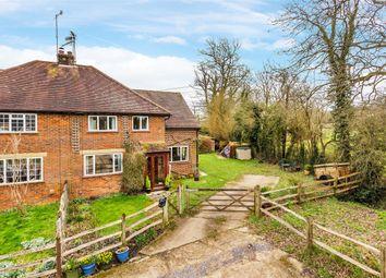 Thumbnail 3 bed semi-detached house for sale in Halesbridge Farm Cottages, Blanks Lane, Newdigate, Dorking