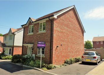 Thumbnail 3 bed detached house for sale in Alpine Crescent, Fareham
