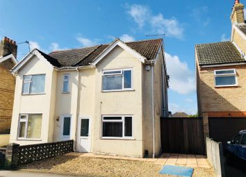 Thumbnail 3 bed semi-detached house for sale in Rossmore Road, Parkstone, Poole
