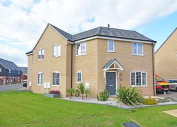 Thumbnail 3 bed semi-detached house for sale in Spencer Road, Crowland, Peterborough