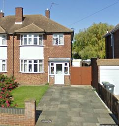 Thumbnail 3 bed semi-detached house to rent in Longfield Avanue, Luton