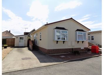Thumbnail 2 bed mobile/park home for sale in The Fairway, Lancing