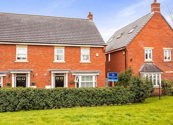 Thumbnail 4 bed semi-detached house for sale in Lingwell Park, Widnes