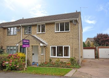 Thumbnail 3 bedroom semi-detached house for sale in Highfield Road, Kirkburton, Huddersfield
