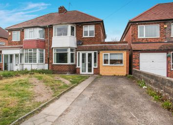 Thumbnail 4 bedroom semi-detached house for sale in Cooks Lane, Kingshurst, Birmingham