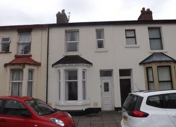 Thumbnail 3 bed terraced house for sale in Belmont Avenue, Blackpool, Lancashire, United Kingdom