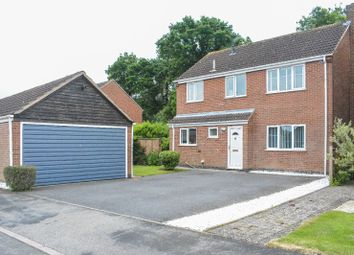Thumbnail 4 bed detached house to rent in Cottesmore Avenue, Oadby, Leicester
