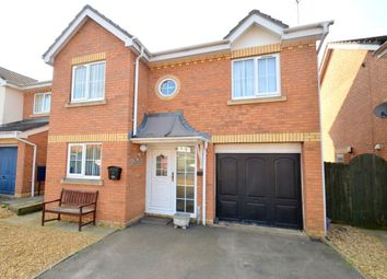 Thumbnail 4 bed detached house for sale in Wainwright Avenue, Thrapston, Kettering