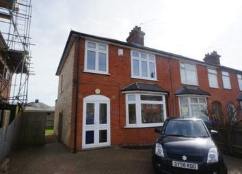 Thumbnail 3 bed terraced house to rent in Heath Lane, Ipswich