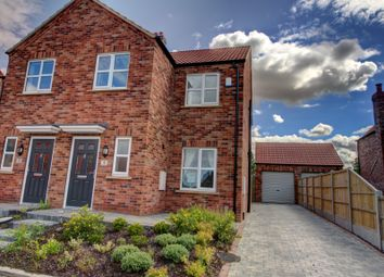 Thumbnail 3 bed semi-detached house for sale in Aspen Lane, Laceby, Grimsby