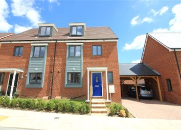 Thumbnail 4 bed semi-detached house to rent in Mott Lane, Castle Hill, Ebbsfleet, Kent