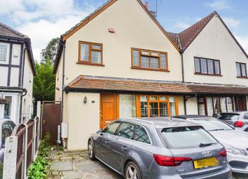 Thumbnail 3 bed semi-detached house to rent in Heath Park Road, Romford