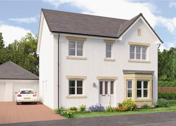"Thumbnail 4 bed detached house for sale in ""Douglas Det"" at Caulderhame Road, Currie"