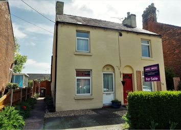 Thumbnail 2 bed semi-detached house for sale in New Street, Crewe