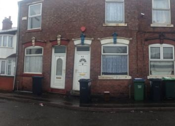 Thumbnail 2 bedroom terraced house to rent in Greswold Street, West-Bromwich, West-Midlands