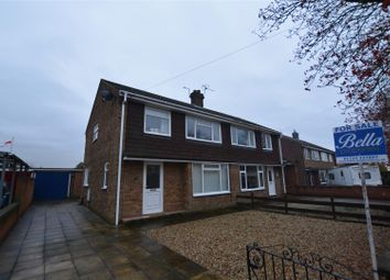 Thumbnail 3 bed semi-detached house for sale in Cross Street, Crowle, Scunthorpe