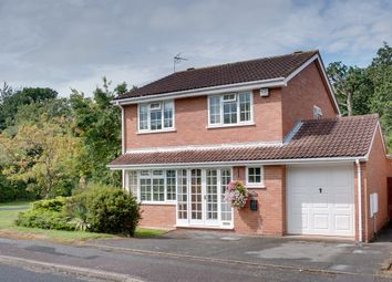 Thumbnail 4 bed detached house for sale in Lineholt Close, Oakenshaw South, Redditch