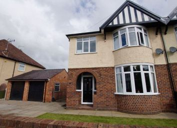 Thumbnail 3 bed semi-detached house for sale in Court Road, Wrexham