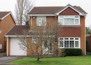 Thumbnail 4 bed detached house for sale in Felgate Close, Monkspath, Solihull