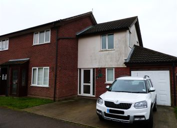 Thumbnail 3 bedroom end terrace house for sale in Eastern Way, Elmswell, Bury St. Edmunds