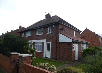 Thumbnail 2 bed semi-detached house to rent in Grasmere Avenue, Intake, Doncaster