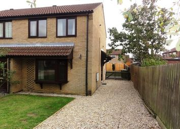 Thumbnail 2 bed semi-detached house to rent in Beaufort Close, Glebe Park, Lincoln
