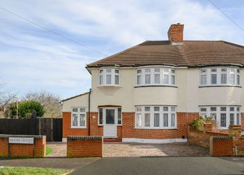Thumbnail 3 bed semi-detached house for sale in Parkside Crescent, Surbiton