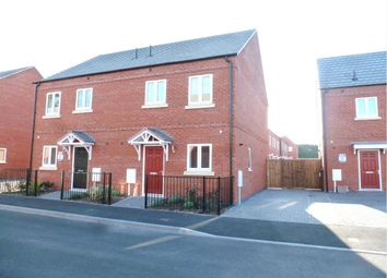 Thumbnail 3 bed semi-detached house to rent in Webster Road, Loughborough
