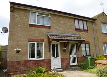 Thumbnail 2 bed end terrace house to rent in Peterhouse Crescent, March, Cambs