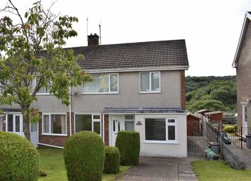 Thumbnail 3 bed semi-detached house for sale in Gwerneinon Road, Sketty, Swansea
