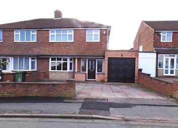 Thumbnail 3 bedroom semi-detached house for sale in Elmtree Road, Streetly, Sutton Coldfield, West Midlands