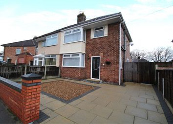 Thumbnail 3 bed semi-detached house for sale in Layton Road, Woolton, Liverpool, Merseyside
