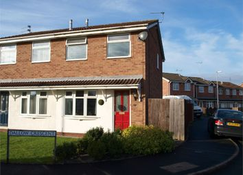 Thumbnail 2 bed semi-detached house for sale in Dallow Crescent, Burton-On-Trent, Staffordshire