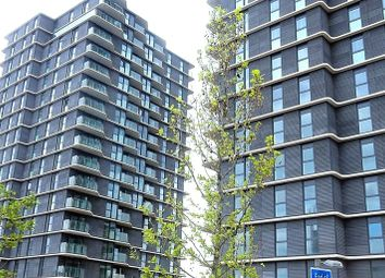 Thumbnail 1 bed flat for sale in Glasshouse Gardens, West Tower (Cassia Point), Stratford, London