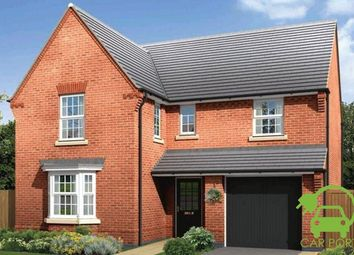 "Thumbnail 4 bedroom detached house for sale in ""Exeter"" at Orton Road, Warwick"