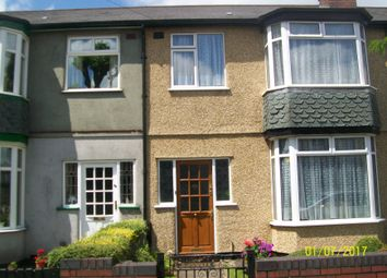 Thumbnail 3 bed terraced house for sale in Grange Road, Aston