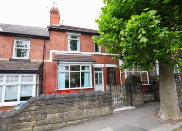 Thumbnail 3 bed terraced house for sale in Foljambe Road, Chesterfield