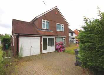 Thumbnail 3 bed detached house for sale in Middlewich Road, Nantwich