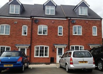 Thumbnail 3 bedroom town house to rent in Berrywell Drive, Barwell, Leicester