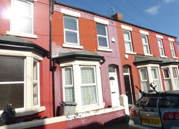 Thumbnail 3 bed terraced house for sale in Palatine Road, Wallasey