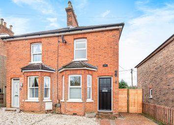Thumbnail 2 bed semi-detached house for sale in Grove Road, Ash Vale, Aldershot