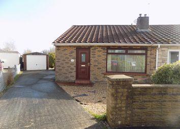 Thumbnail 2 bed semi-detached bungalow for sale in Dol Wen, Pencoed, Bridgend .