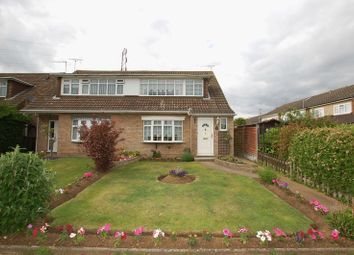 Thumbnail 3 bed semi-detached house for sale in Dorset Gardens, Linford, Stanford-Le-Hope