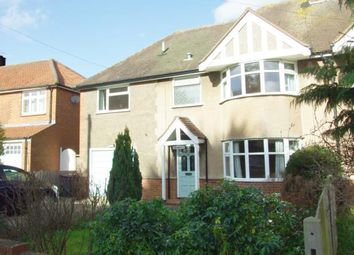 Thumbnail 5 bed semi-detached house to rent in Pirton Road, Hitchin