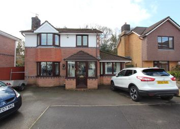 Thumbnail 3 bed detached house for sale in Rhyd Y Gwern Close, Rudry, Caerphilly