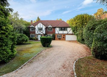 Thumbnail 5 bed detached house to rent in Springfield Road, Camberley