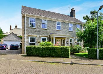 Thumbnail 4 bed detached house for sale in Station Road, Westbury Sub Mendip, Wells