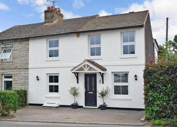 Church Street, Boughton Monchelsea, Maidstone, Kent ME17. 3 bed semi-detached house