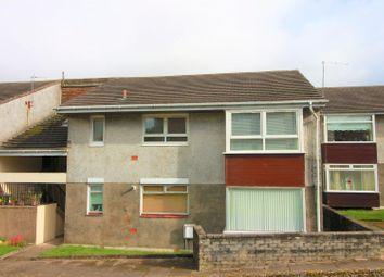Thumbnail 2 bed flat for sale in Bridgend Avenue, Port Glasgow
