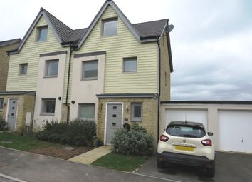 Thumbnail 3 bed town house for sale in Churchill Rise, Axminster